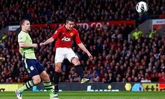Today's anniversary...Van Persie with a screamer wins United's the title.