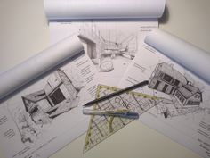 Cube, Louvre, Sketches, Building, Projects, Travel, Drawings, Log Projects, Blue Prints