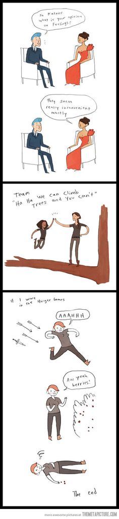 Hunger Games Comics…