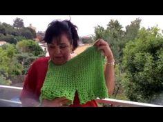 Tejido en gancho - short para verano - Tejiendo con Laura Cepeda - YouTube