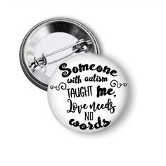 Someone With Autism Autism Pins World Autism by NannyGoatsCloset