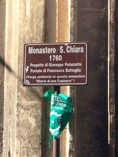 """Monastero di Santa Chiara...""""Storia di una capinera"""" G. Verga"""