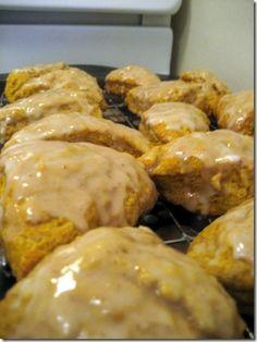 copycat starbucks pumpkin spice scones perfect for a morning bake sale!