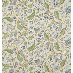Sanderson Newnham Courtney linen fabric in 202 Sanderson Fabric, Painted Rug, Pattern Matching, Curtains With Blinds, English Countryside, Fabric Wallpaper, Soft Furnishings, Linen Fabric, Fabric Design