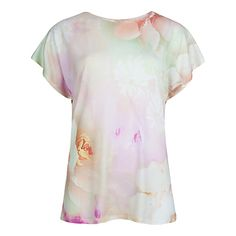 Spring/Summer Fashion 2015 - Ted Baker Lagita Rose On Canvas T-Shirt