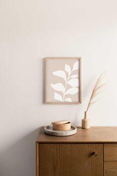 Botanical Wall Art, Botanical Prints, Contemporary Home Decor, Negative Space, Home Decor Wall Art, Abstract Wall Art, Decoration, Printable Wall Art, Ideas