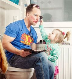 Letting Your Daughter Do Your Make-up