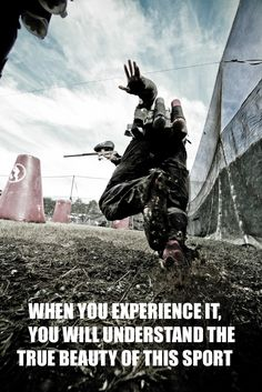 when you experience it, you will understand the true beauty of this sport. #paintball Photo by Jeff Stinson