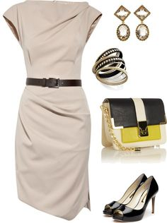 """""""Classic/Michael Kors dress"""" by houseofbrown on Polyvore"""