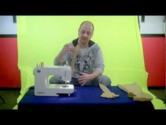 How To Make A Puppet Tutorial - Part 1 of 2    This is the best tutorial I've seen so far.  It gives me....ideas...