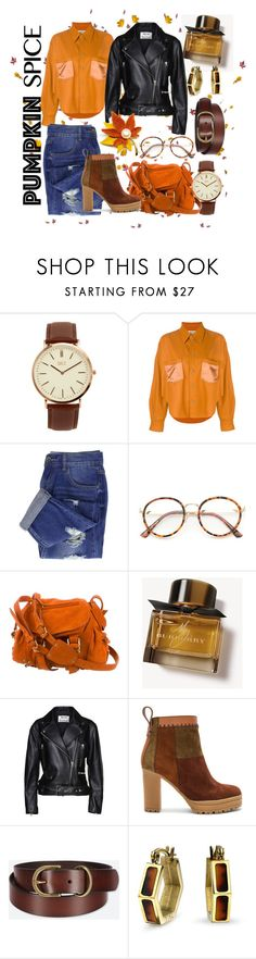 """Fall in love"" by bernadett-soos ❤ liked on Polyvore featuring BKE, MARIOS, Jérôme Dreyfuss, Burberry, Acne Studios, See by Chloé, Uniqlo and Bling Jewelry"