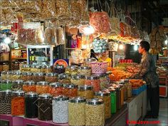 Cakes, Crackers, Snacks... @ Blauran market - Surabaya - East Java - Indonesia