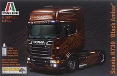 Italeri 1/24 Scania R Black Amber