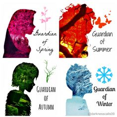 The Four Seasons. Hiccup should be red or orange, not green, because green's a summer color not a fall color. But that's just me. lol XD