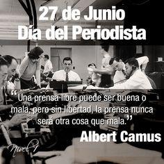 Día del Periodista en Venezuela #efemérides #citas #frases #quotes