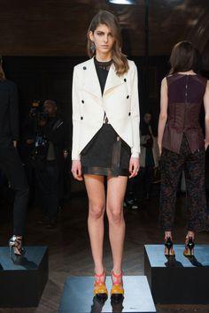 Défile Veronica Beard prêt-à-porter automne-hiver 2014-2015, New York #NYFW #Fashionweek