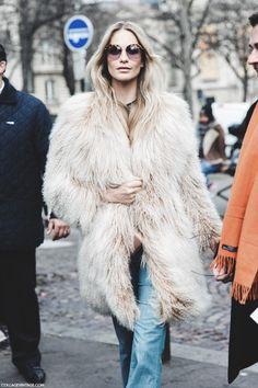 dustjacketattic:poppy delevingne | paris fashion week