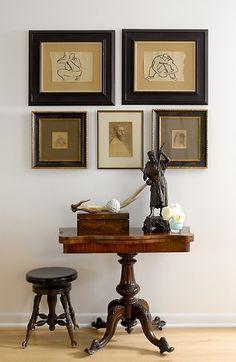 Lane Home by Graciela Rutkowski Interiors #WoodFlooring #Table
