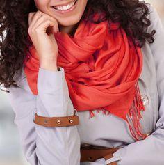 Alabama Girl Silk Blend Pashmina Scarf in 6 Cool Colors! $11.99 / 71% off