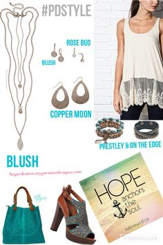 Blush necklace~Premier designs fall 2016 collection