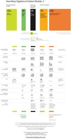 Efectos del cambio climático. Infografía del 2013