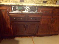 Image Of Hidden dishwasher DishwasherBaths Hidden dishwasher st louis bathroom vanities