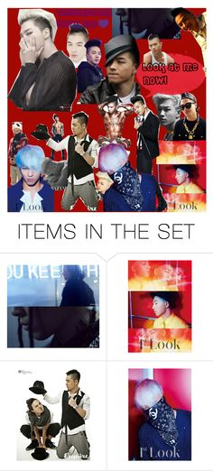 """""""L.O.V.E Tae <3"""" by melimeli21 ❤ liked on Polyvore featuring art, bigbang, taeyang, yg and myedit"""