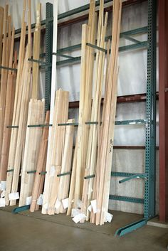 vertical lumber storage - Google Search & Lumber storage rack | vertical lumber storage | WW Lumber Storage ...