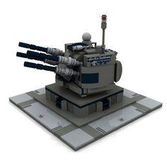 https://flic.kr/p/p6SPJv | LEGO Custom Battle Android Mirage DG ART | Battle Androide Flak Mirage Bauanleitung/instruction