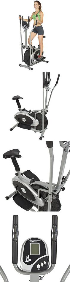 sporting goods: Elliptical Bike 2 In 1 Cross Trainer Exercise Fitness Machine Upgraded Model -> BUY IT NOW ONLY: $104.99 on eBay!