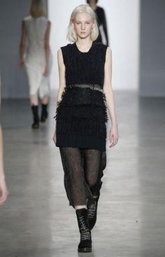 sfilata Calvin Klein autunno inverno 2014 2015 trasparenza  #calvinklein #womenswear #autumnwinter #autumnwinter2015 #autunnoinverno #abbigliamento #abbigliamentodonna #fashion #vestiti #clothes