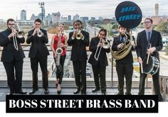 Check out The Boss Street Brass Band! This group is an Austin-based, New Orleans style brass band that can take you from the Crescent City of New Orleans all around the world on a musical journey to get your guests excited and dancing all night long. Their dinner and cocktail sets include some easy listening that you can tap your foot to, and their dance and party sets are so diverse with top 40 hits of all genres – everyone will go home happy! #bossstreetbrassband #liveband