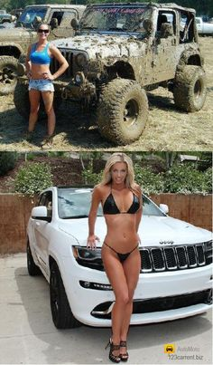 Jeeps and beautiful girls - 3 PHOTO!