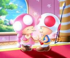 Let's Play Pocky by AlcyoneAX on DeviantArt Super Mario Princess, Mario Kart, Lets Play, Super Mario Bros, Art Club, Very Lovely, Toad, Community Art, Cool Words