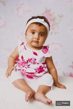 Micol, 6 mesi #child #pink #photostudio #albertogagnafotografo