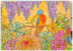 Magazine Coloriage Zen 9 Aquarelle