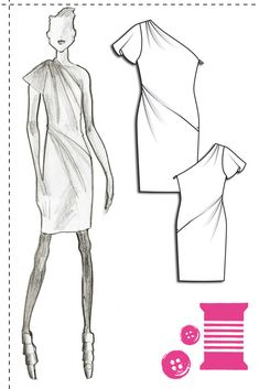 @BurdaStyle Can't wait to see this dress made up! So lovely and feminine.