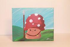Guarding the Mushroom Kingdom - A Couple of Brushes by aCoupleofBrushes on Etsy https://www.etsy.com/listing/243266274/guarding-the-mushroom-kingdom-a-couple