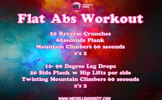 Quick #ABS #Workout. You can do from Home. NO equipment. FLATTEN BELLY workout.