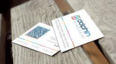 Diseño de tarjetas de visita Dolphin | Dolphin Tecnologías