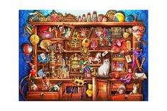 Puzzle Bluebird - Marchetti Ciro: Ye Old Shoppe, piese Blue Bird, Puzzle, Cabinet, Games, Jelly Cupboard, Puzzles, Riddles, Gaming, Cupboard