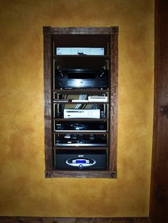 basement home theater  | ... to Basement Theater, Equipment Rack - Electronic House Cool Home