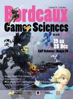 Bordeaux Games Sciences : festival du jeu vidéo - Bordeaux