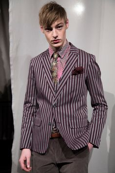 Roberto Sipos at Trina Turk Fall Winter 2014