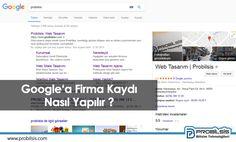 Yerel SEO İçin Google Firma Kaydı
