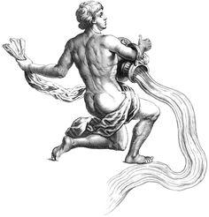 Zodiac Tattoo Designs: Aquarius