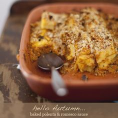 baked polenta - another one for winter. nom.