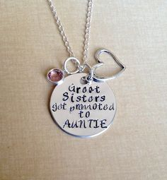 Hey, I found this really awesome Etsy listing at https://www.etsy.com/listing/186315698/great-sisters-get-promoted-to-auntie