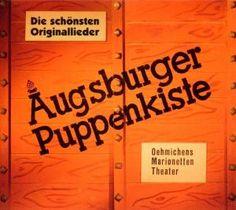 Augsburger Puppenkiste - Oehmichens Marionetten Theater - beliebtes Fernsehprogamm in den 60ern ---- German TV program with puppets for children