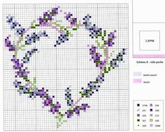 Embroidery love heart needlework 49 Ideas for 2019 Cross Stitch Needles, Cross Stitch Heart, Beaded Cross Stitch, Cross Stitch Flowers, Cross Stitch Embroidery, Embroidery Patterns, Cross Stitch Designs, Cross Stitch Patterns, Cross Stitching